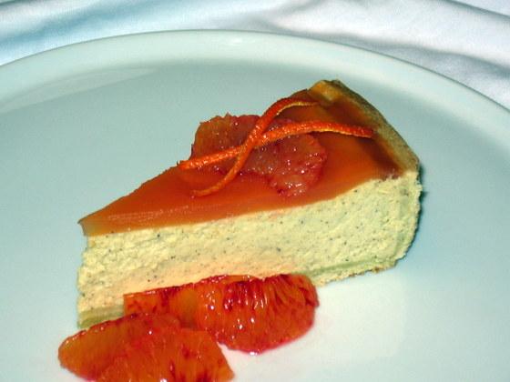 Cheesecake al miele e spezie
